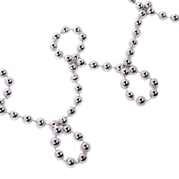 Silver Bead Chain Garland - 8mm x 10m