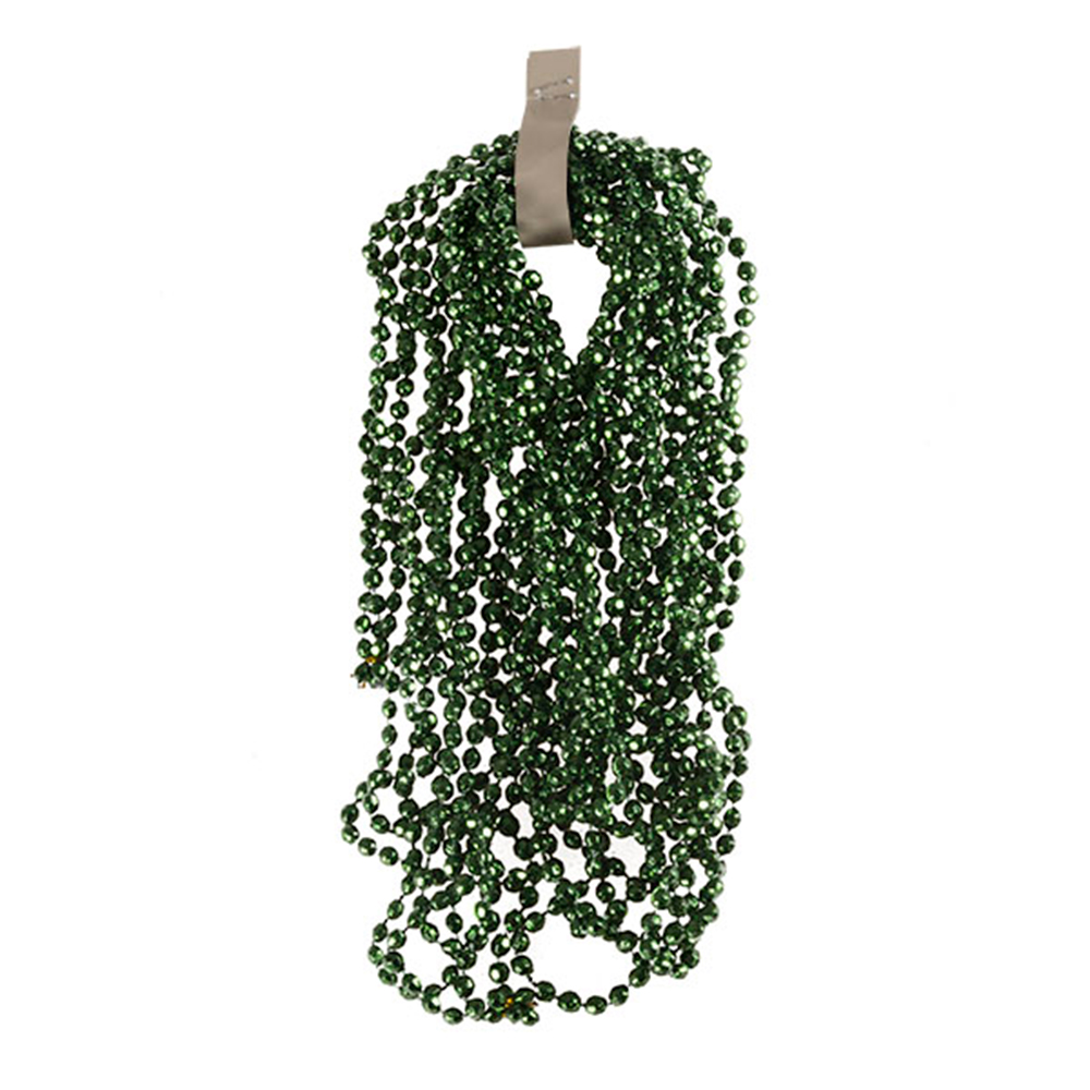 Classic Green Diamond Bead Garland - 2.7m