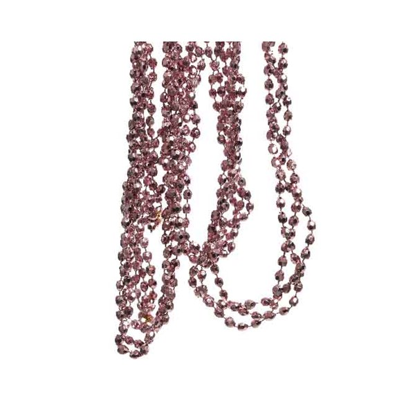 Velvet Pink Diamond Bead Garland - 2.7m