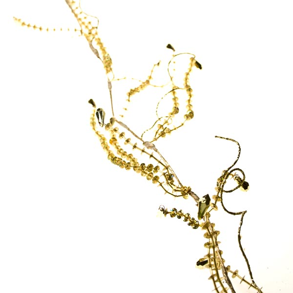 Gold Diamond Bead Garland - 180cm