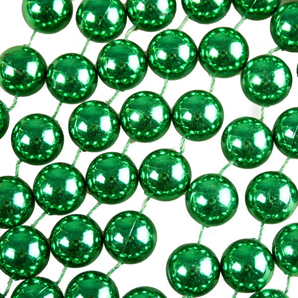 Emerald Green Bead Chain Garland - 2.7m