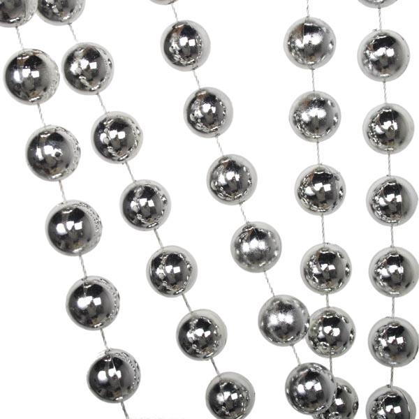 Silver Bead Chain Garland - 2.7m