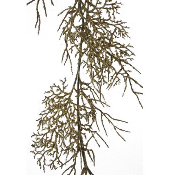 Oyster Glitter Branch Garland - 120cm