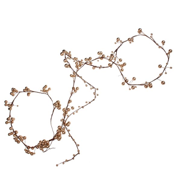 Gold Berry Garland - 2.7m