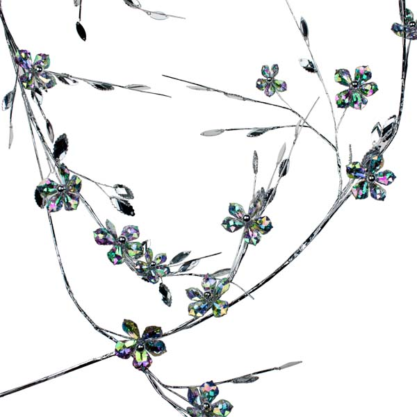 Iridescent Flower Garland - 1.5m