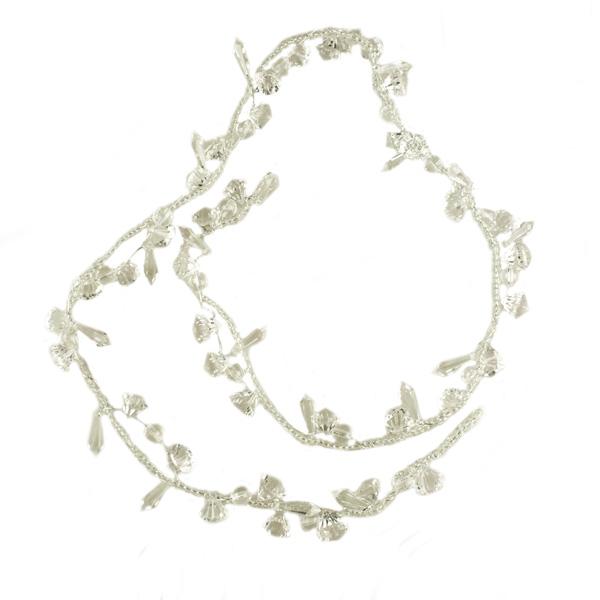 Clear Acrylic Bead Garland - 100cm
