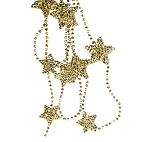 Decorative Gold Star Garland - 2.7m