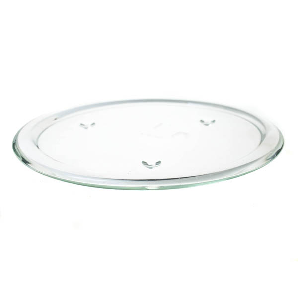 Clear Round Decorative Plate - 1 x 25cm