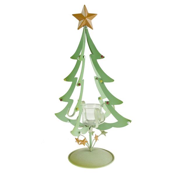 Gisela Graham Metal Christmas Tree Nite-Lite - 38.5cm