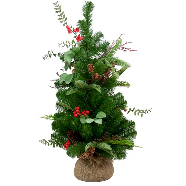 Noble Pine And Berry Tree - 60cm