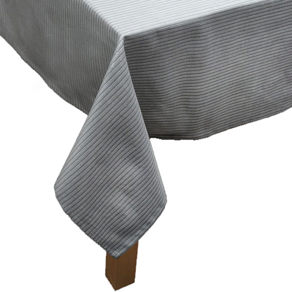 Peggy Wilkins Silver Halcyon Design 170cm x 300cm Tablecloth (67 x 118 Inches)