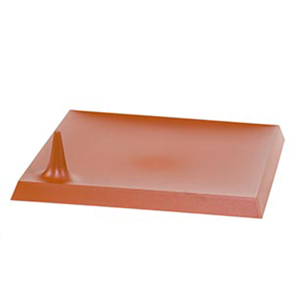 Lux Starck Terracotta Square Plates - Pack of 6