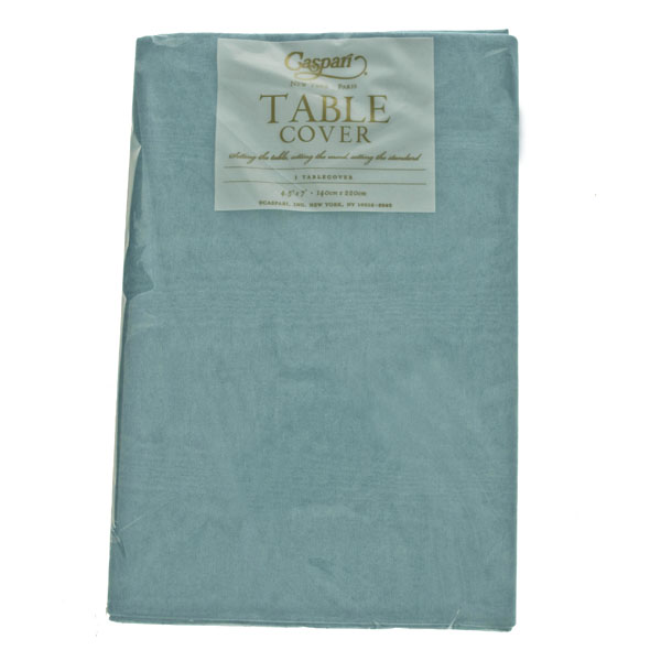 Disposable Mediterranean Blue Table Cover