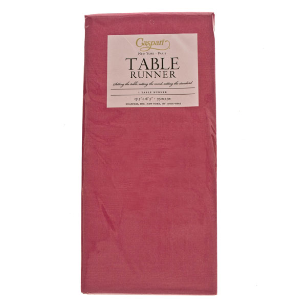 Disposable Table Runner - Moire Fuchsia
