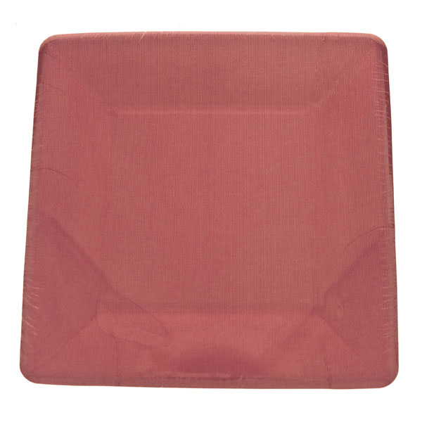 Fuchsia Disposable Square Dessert Plates - Pack Of 8