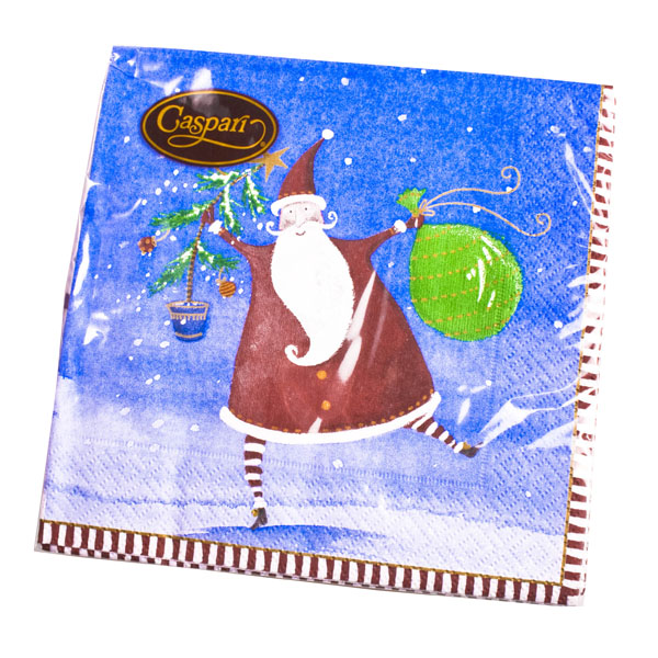 Christmas Lunch Napkins - Ho! Ho! Ho!