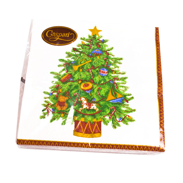 Christmas Lunch Napkins - Toyland