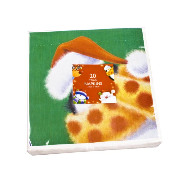 Character Design Disposable Tableware - Pack Of 20 Napkins