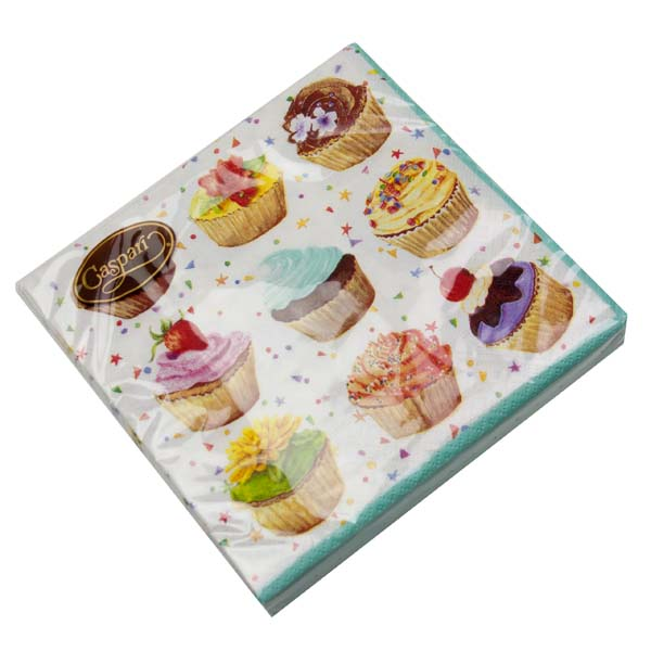 Pack Of 20 Disposable Cupcake Napkins