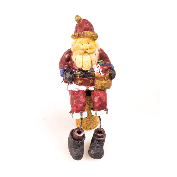 Santa Cork Bottle Top