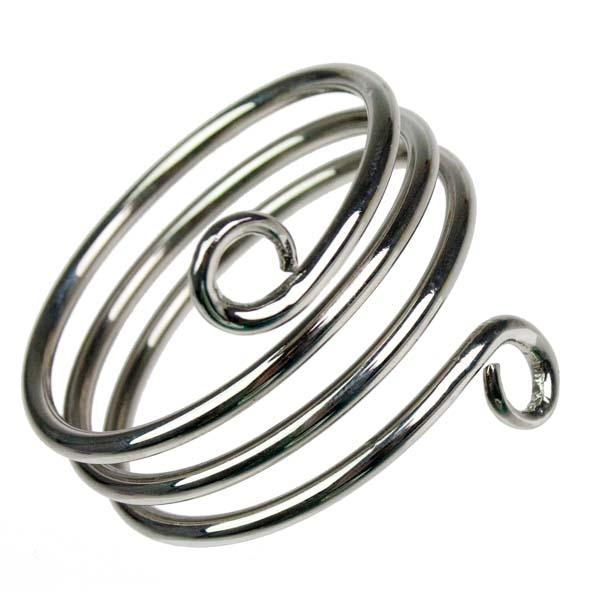 Silver Swirl Napkin Ring
