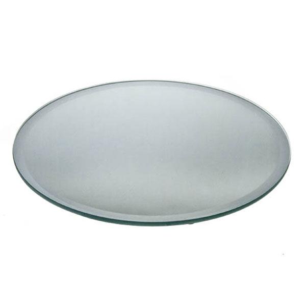 Mirror Plate - 25cm Diameter Round