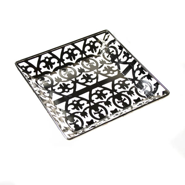 Small Decorative Square Tray - 15cm