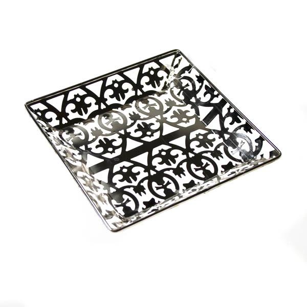 Small Decorative Square Tray - 15cm