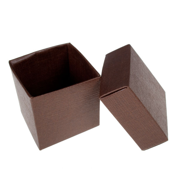 Spring & Autumn Range Brown Silk Favour Box
