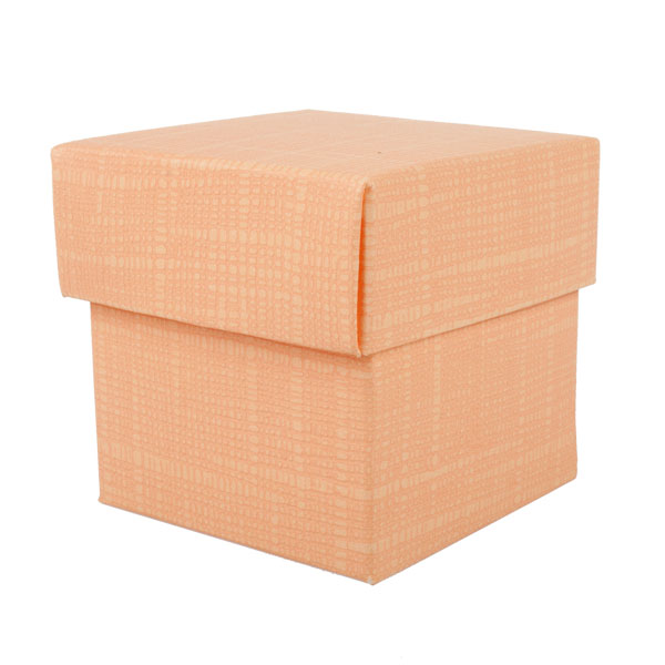 Spring & Autumn Range Orange Silk Favour Box