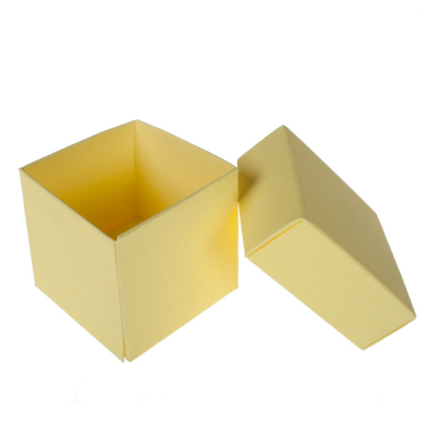 Spring & Autumn Range Lemon Silk Favour Box
