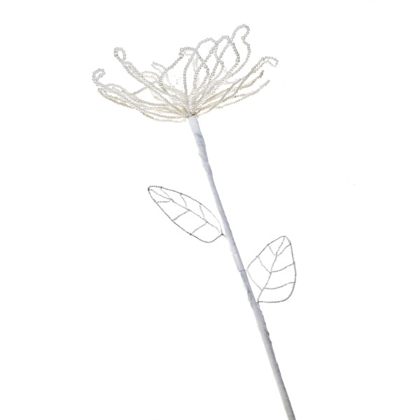 Ivory Pearl Flower Stem