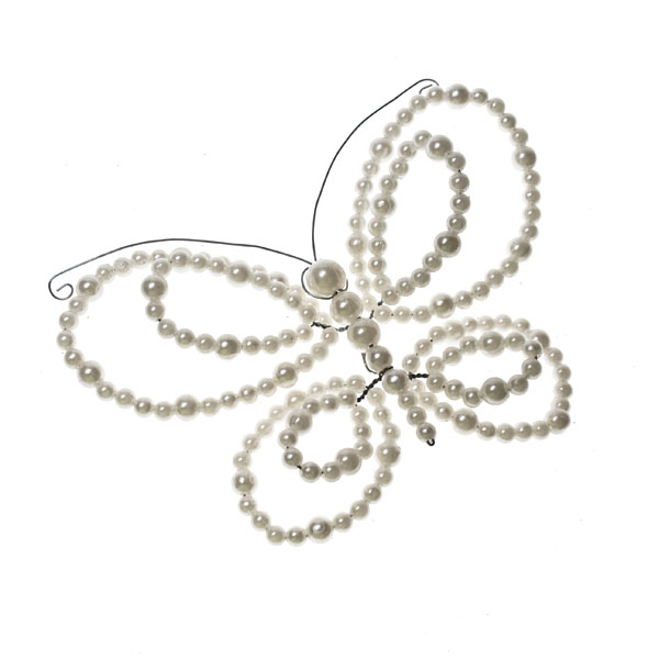 Ivory Pearl Butterfly