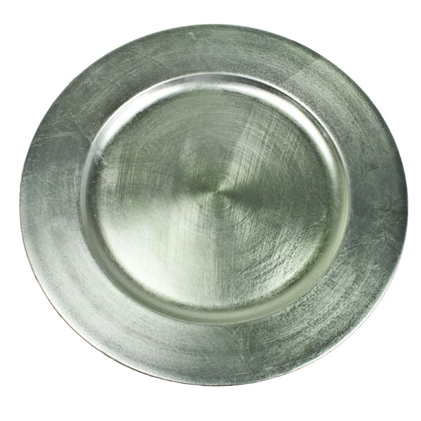 Standard Pale Mint Green Round Charger Plate - 33cm Diameter