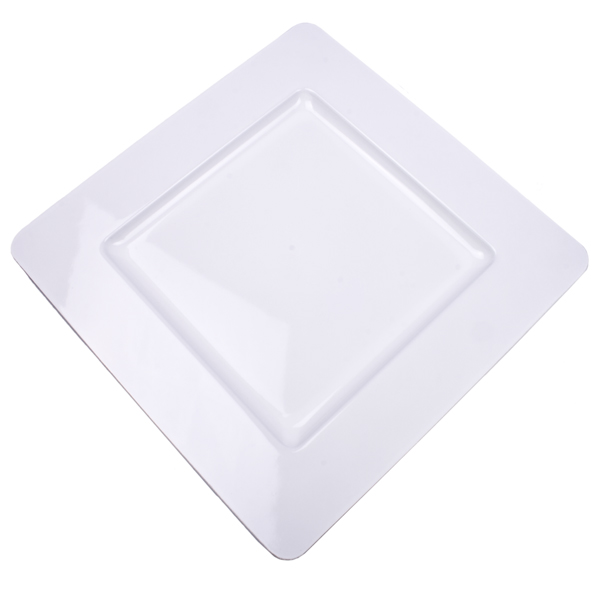 Standard White Square Charger Plate - 33cm x 33cm