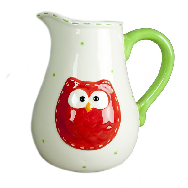 Owl Design Jug - 19cm