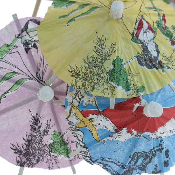 Global Gatherings Cocktail Umbrellas