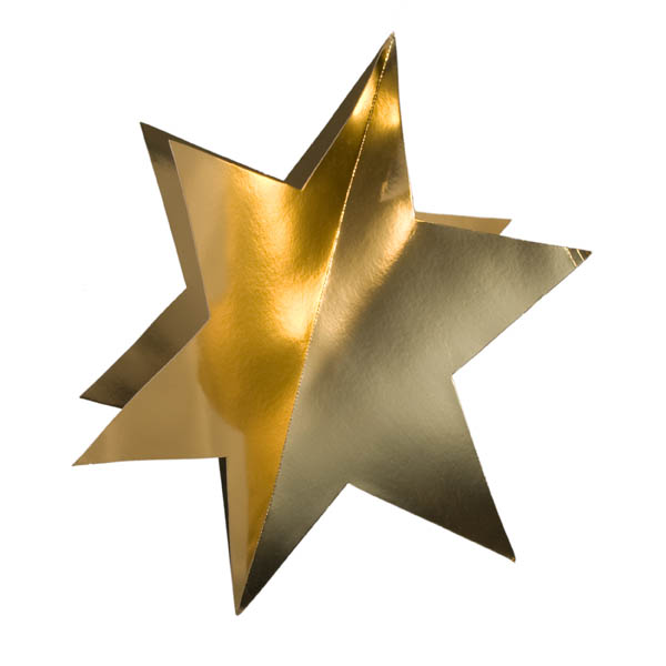 Gold Display Star - 75cm