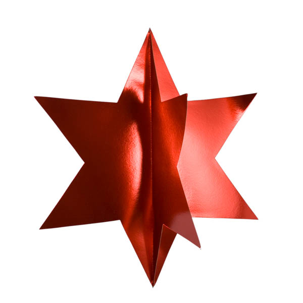 Red Display Star - 75cm