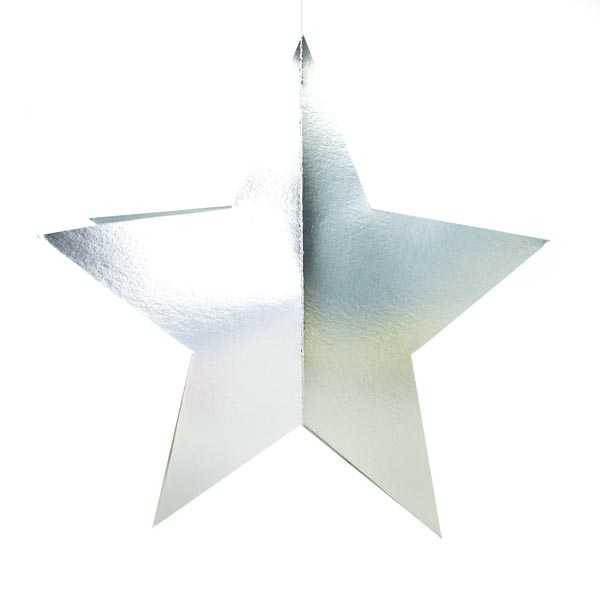 Silver Display Star - 45cm