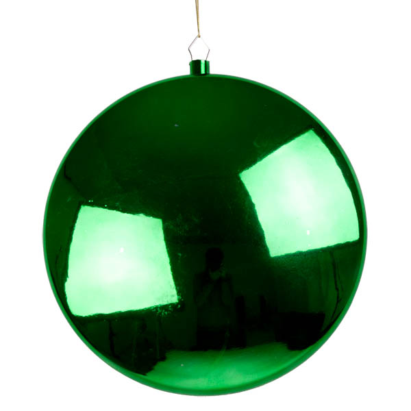 Green Disc Hanging Decoration - 30cm