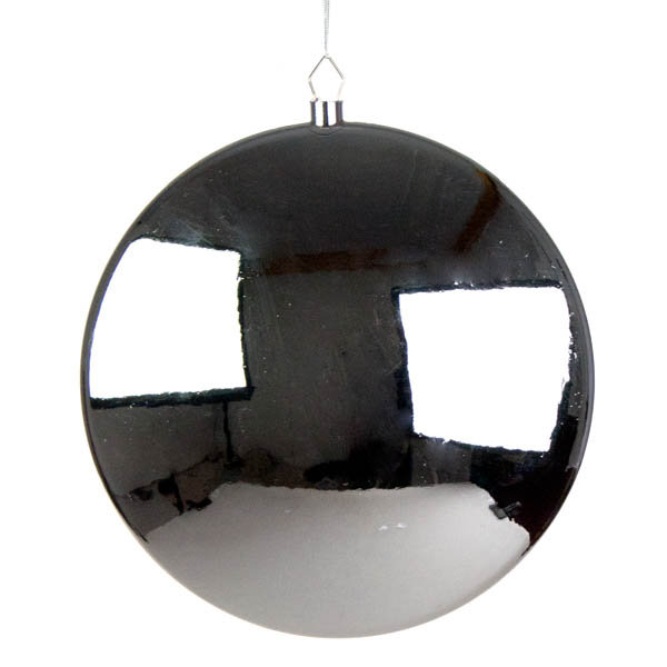 Silver Disc Hanging Decoration - 30cm
