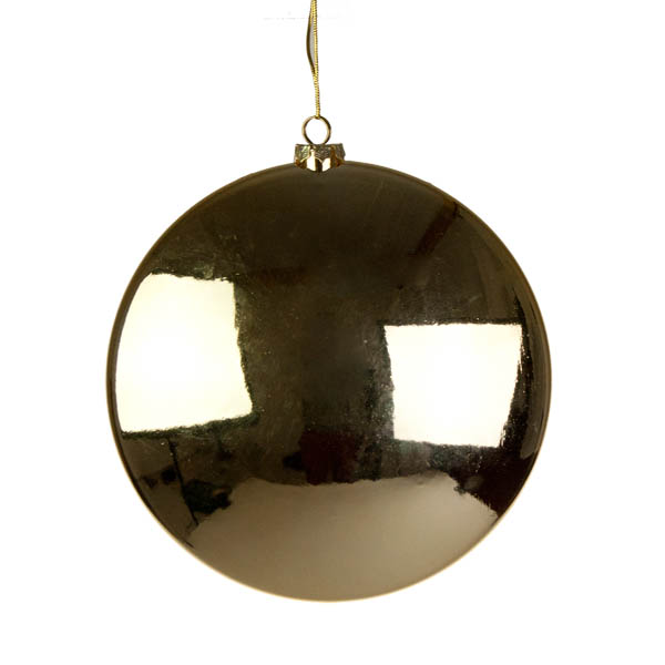 Gold Disc Hanging Decoration - 20cm