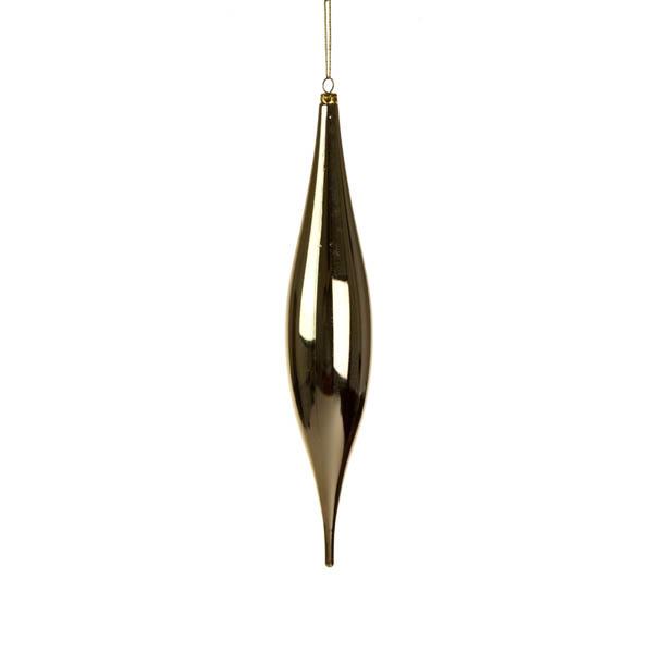 Gold Droplet Hanging Decoration - 33cm