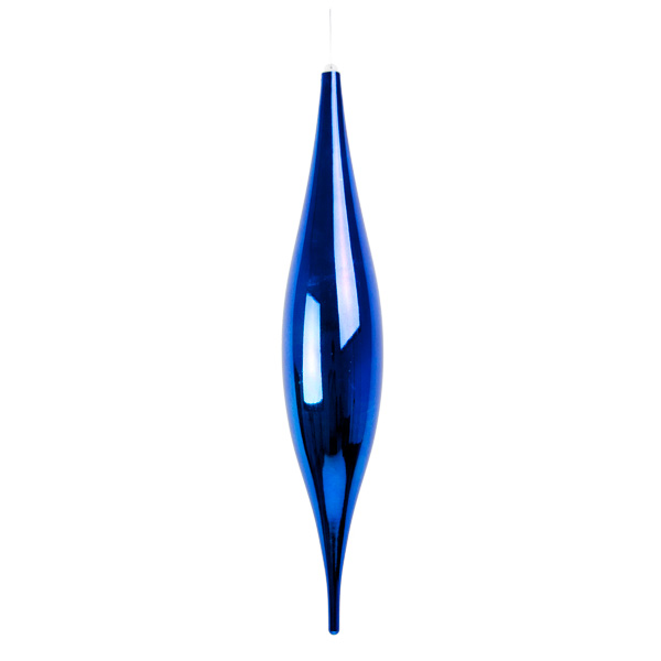 Blue Droplet Hanging Decoration - 54cm