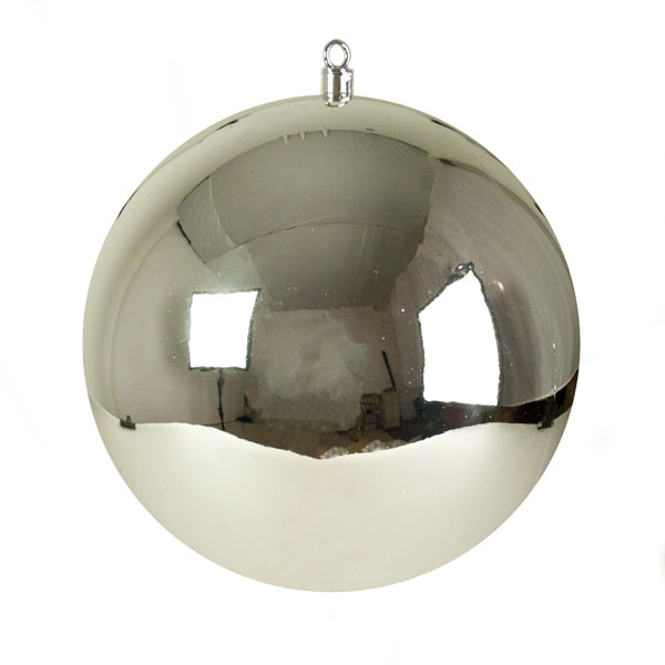 Silver Display Shatterproof Bauble - 1 x 400mm