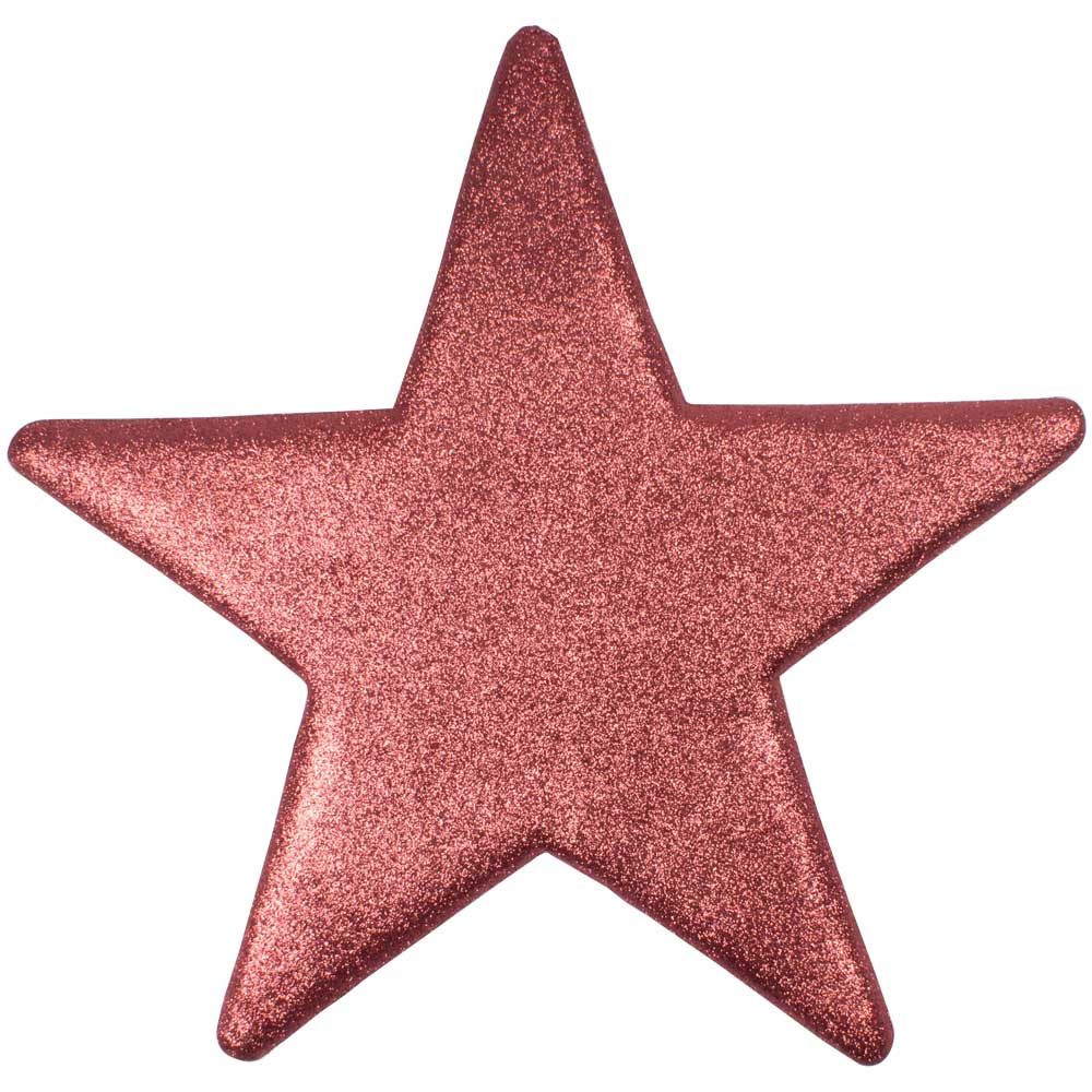 50cm Glitter Display Star Hanger - Pink