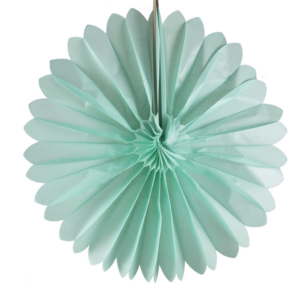 Paper Fan Collection - 60cm Light Green