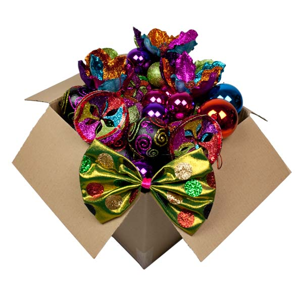 Standard Circus Theme Tree Decorating Package