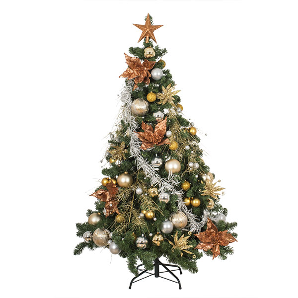 Precious Metals Theme Range - Decor Pack ONLY (6ft Tree)